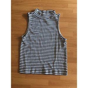 H&M sleeveless crop top